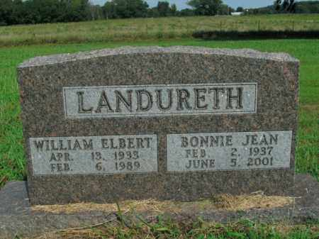 LANDURETH, BONNIE JEAN - Boone County, Arkansas | BONNIE JEAN LANDURETH - Arkansas Gravestone Photos