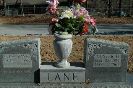 LANE, DUSTER D. - Boone County, Arkansas | DUSTER D. LANE - Arkansas Gravestone Photos