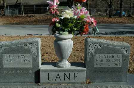 LANE, DUSTER D. - Boone County, Arkansas | DUSTER D. LANE - Arkansas Gravestone Photos