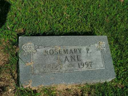 LANE, ROSEMARY P. - Boone County, Arkansas | ROSEMARY P. LANE - Arkansas Gravestone Photos