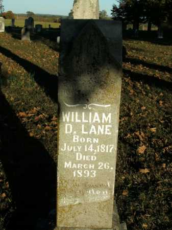 LANE, WILLIAM D. - Boone County, Arkansas | WILLIAM D. LANE - Arkansas Gravestone Photos