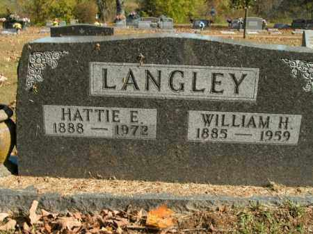 LANGLEY, HATTIE E. - Boone County, Arkansas | HATTIE E. LANGLEY - Arkansas Gravestone Photos