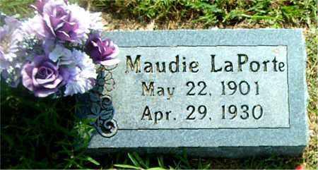 LAPORTE, MAUDIE - Boone County, Arkansas | MAUDIE LAPORTE - Arkansas Gravestone Photos