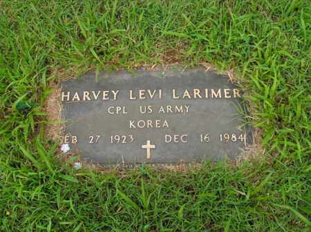LARIMER  (VETERAN KOR), HARVEY LEVI - Boone County, Arkansas | HARVEY LEVI LARIMER  (VETERAN KOR) - Arkansas Gravestone Photos