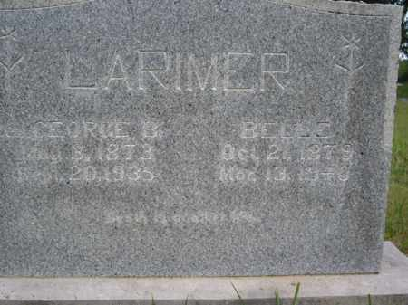 LARIMER, GEORGE B. - Boone County, Arkansas | GEORGE B. LARIMER - Arkansas Gravestone Photos