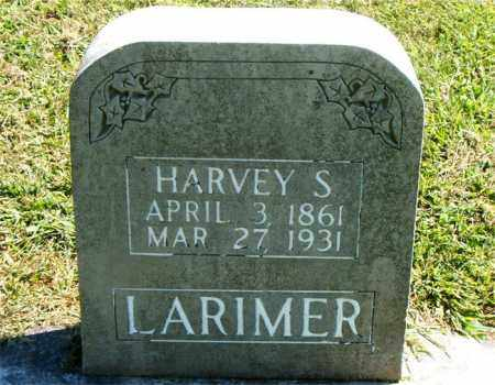 LARIMER, HARVEY  S. - Boone County, Arkansas | HARVEY  S. LARIMER - Arkansas Gravestone Photos
