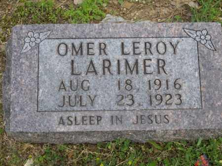 LARIMER, OMER LEROY - Boone County, Arkansas | OMER LEROY LARIMER - Arkansas Gravestone Photos