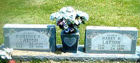 LATSON, HARRY D. - Boone County, Arkansas | HARRY D. LATSON - Arkansas Gravestone Photos