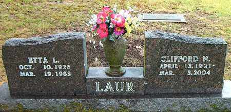 "LAUR, CLIFFORD  NORMAN ""CHIPS"" - Boone County, Arkansas 