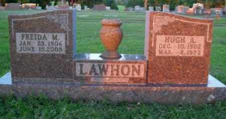 LAWHON, HUGH A. - Boone County, Arkansas | HUGH A. LAWHON - Arkansas Gravestone Photos