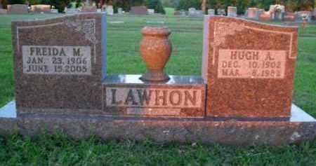 LAWHON, FREIDA M. - Boone County, Arkansas | FREIDA M. LAWHON - Arkansas Gravestone Photos