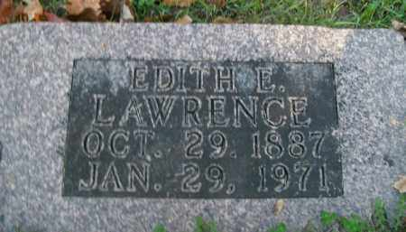 LAWRENCE, EDITH ELIZABETH - Boone County, Arkansas | EDITH ELIZABETH LAWRENCE - Arkansas Gravestone Photos
