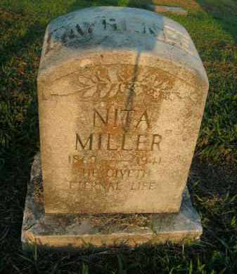MILLER LAWRENCE, NITA - Boone County, Arkansas | NITA MILLER LAWRENCE - Arkansas Gravestone Photos
