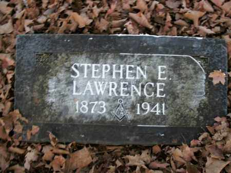 LAWRENCE, STEPHEN E. - Boone County, Arkansas | STEPHEN E. LAWRENCE - Arkansas Gravestone Photos