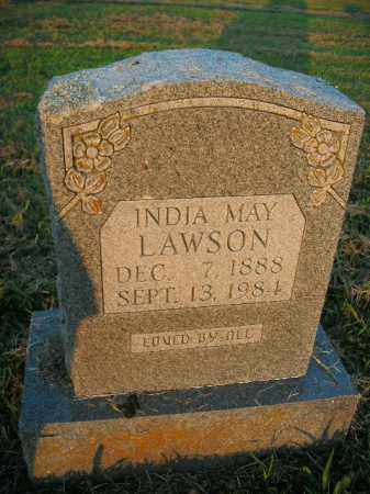 LAWSON, INDIA MAY - Boone County, Arkansas | INDIA MAY LAWSON - Arkansas Gravestone Photos