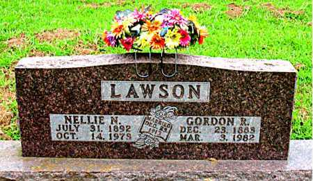 LAWSON, NELLIE N. - Boone County, Arkansas | NELLIE N. LAWSON - Arkansas Gravestone Photos