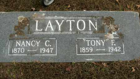 LAYTON, TONY F. - Boone County, Arkansas | TONY F. LAYTON - Arkansas Gravestone Photos