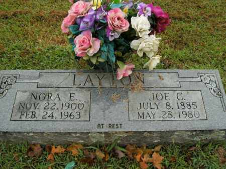 LAYTON, NORA E. - Boone County, Arkansas | NORA E. LAYTON - Arkansas Gravestone Photos
