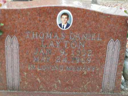LAYTON, THOMAS DANIEL - Boone County, Arkansas | THOMAS DANIEL LAYTON - Arkansas Gravestone Photos