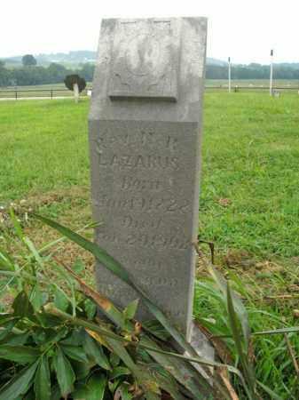 LAZARUS, REV. N.R. - Boone County, Arkansas | REV. N.R. LAZARUS - Arkansas Gravestone Photos