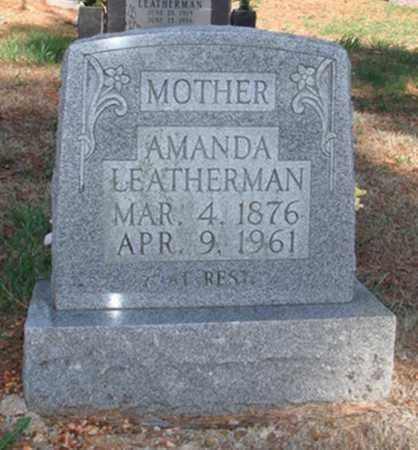 LEATHERMAN, AMANDA - Boone County, Arkansas | AMANDA LEATHERMAN - Arkansas Gravestone Photos