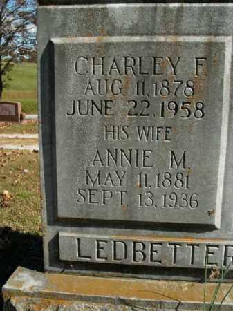 LEDBETTER, CHARLEY F. - Boone County, Arkansas | CHARLEY F. LEDBETTER - Arkansas Gravestone Photos
