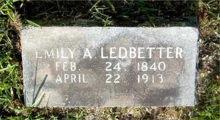 LEDBETTER, EMILY A. - Boone County, Arkansas | EMILY A. LEDBETTER - Arkansas Gravestone Photos