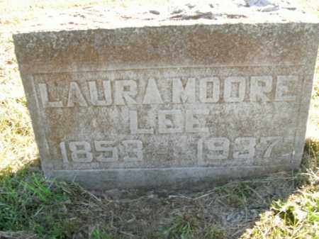 MOORE LEE, LAURA - Boone County, Arkansas | LAURA MOORE LEE - Arkansas Gravestone Photos