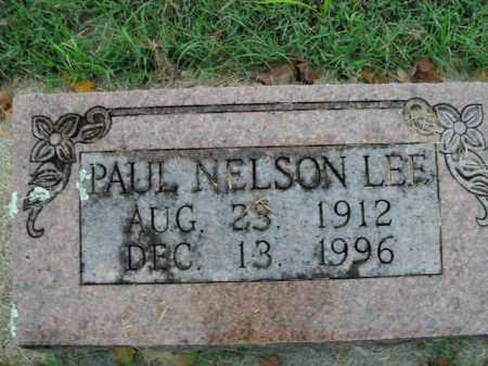 LEE, PAUL NELSON - Boone County, Arkansas | PAUL NELSON LEE - Arkansas Gravestone Photos