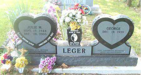 LEGER, JULIE  M. - Boone County, Arkansas | JULIE  M. LEGER - Arkansas Gravestone Photos