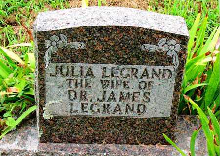 LEGRAND, JULIA - Boone County, Arkansas | JULIA LEGRAND - Arkansas Gravestone Photos