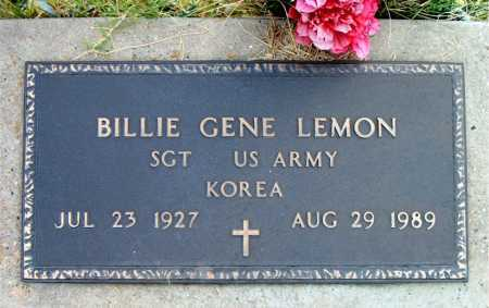 LEMON, BILLIE GENE - Boone County, Arkansas | BILLIE GENE LEMON - Arkansas Gravestone Photos