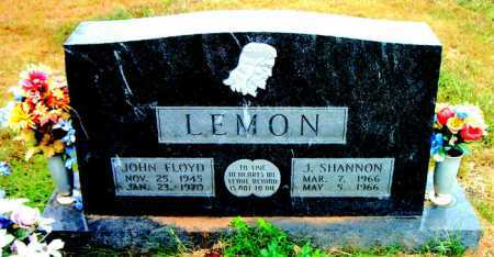 LEMON, J. SHANNON - Boone County, Arkansas | J. SHANNON LEMON - Arkansas Gravestone Photos