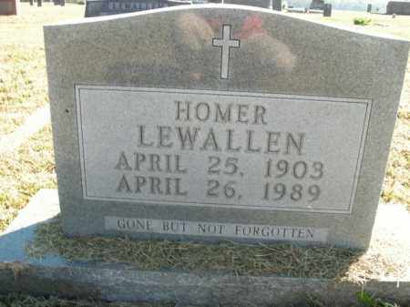 LEWALLEN, HOMER - Boone County, Arkansas | HOMER LEWALLEN - Arkansas Gravestone Photos