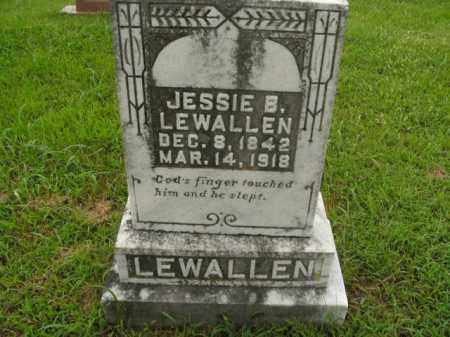 LEWALLEN, JESSIE B. - Boone County, Arkansas | JESSIE B. LEWALLEN - Arkansas Gravestone Photos