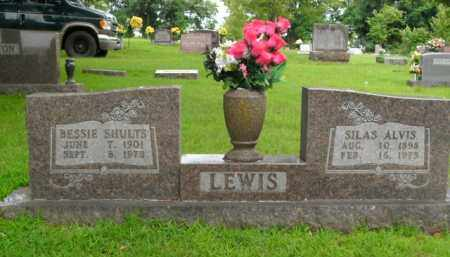 SHULTS LEWIS, BESSIE - Boone County, Arkansas | BESSIE SHULTS LEWIS - Arkansas Gravestone Photos