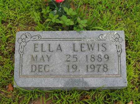 LEWIS, ELLA - Boone County, Arkansas | ELLA LEWIS - Arkansas Gravestone Photos