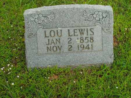 LEWIS, LOU - Boone County, Arkansas | LOU LEWIS - Arkansas Gravestone Photos