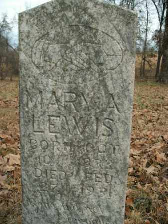 LEWIS, MARY A. - Boone County, Arkansas | MARY A. LEWIS - Arkansas Gravestone Photos
