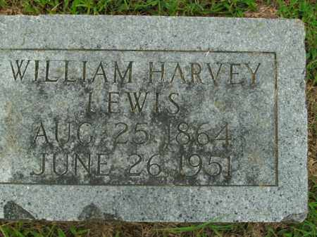 LEWIS, WILLIAM HARVEY - Boone County, Arkansas | WILLIAM HARVEY LEWIS - Arkansas Gravestone Photos