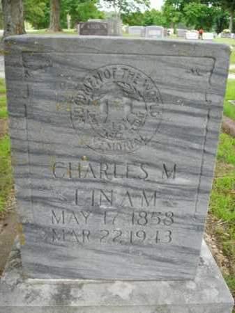 LINAM, CHARLES M. - Boone County, Arkansas | CHARLES M. LINAM - Arkansas Gravestone Photos