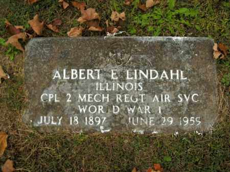LINDAHL  (VETERAN WWI), ALBERT E - Boone County, Arkansas | ALBERT E LINDAHL  (VETERAN WWI) - Arkansas Gravestone Photos
