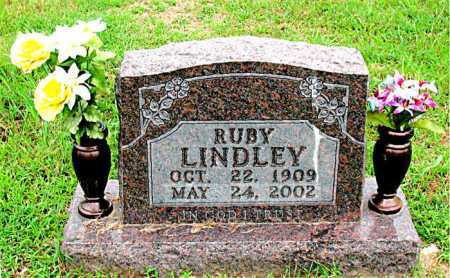 LINDLEY, RUBY - Boone County, Arkansas | RUBY LINDLEY - Arkansas Gravestone Photos