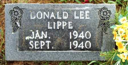 LIPPE, DONALD LEE - Boone County, Arkansas | DONALD LEE LIPPE - Arkansas Gravestone Photos