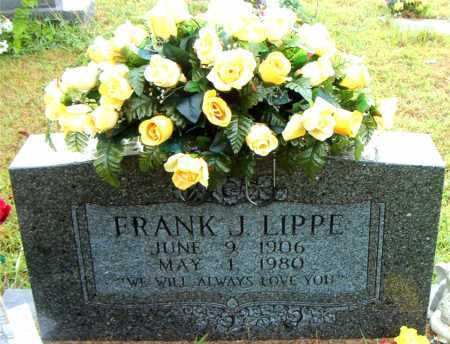 LIPPE, FRANK J - Boone County, Arkansas | FRANK J LIPPE - Arkansas Gravestone Photos