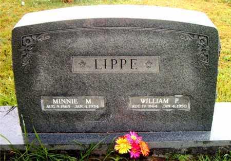 LIPPE, WILLIAM P - Boone County, Arkansas | WILLIAM P LIPPE - Arkansas Gravestone Photos