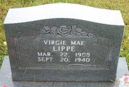 LIPPE, VIRGIE MAE - Boone County, Arkansas | VIRGIE MAE LIPPE - Arkansas Gravestone Photos