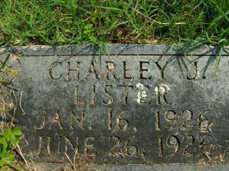LISTER, CHARLEY J. - Boone County, Arkansas | CHARLEY J. LISTER - Arkansas Gravestone Photos