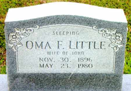 LITTLE, OMA F. - Boone County, Arkansas | OMA F. LITTLE - Arkansas Gravestone Photos