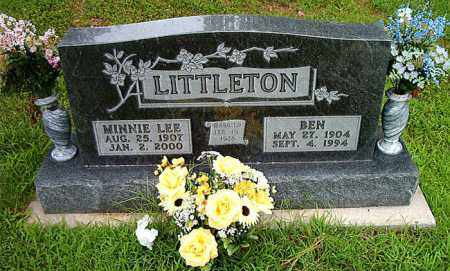 LITTLETON, MINNIE LEE - Boone County, Arkansas | MINNIE LEE LITTLETON - Arkansas Gravestone Photos